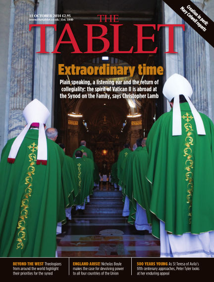 The Tablet Magazine October 11, 2014 00:00