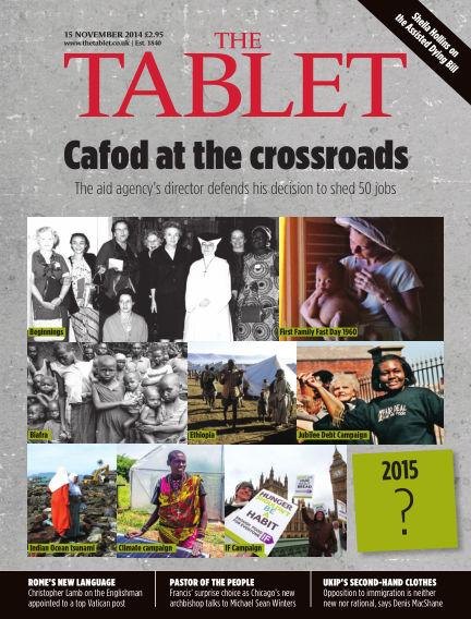 The Tablet Magazine November 15, 2014 00:00