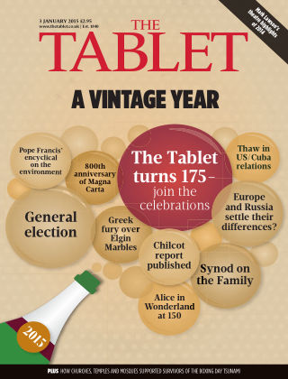 The Tablet Magazine 3rd January 2015