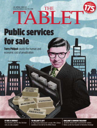 The Tablet Magazine 18th April 2015