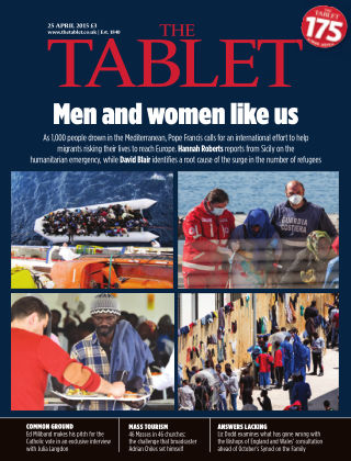 The Tablet Magazine 25th April 2015