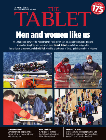 The Tablet Magazine April 25, 2015 00:00