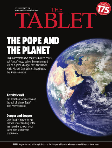 The Tablet Magazine June 13, 2015 00:00