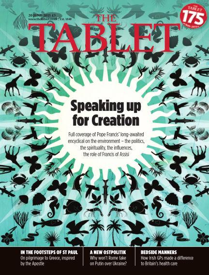 The Tablet Magazine June 20, 2015 00:00