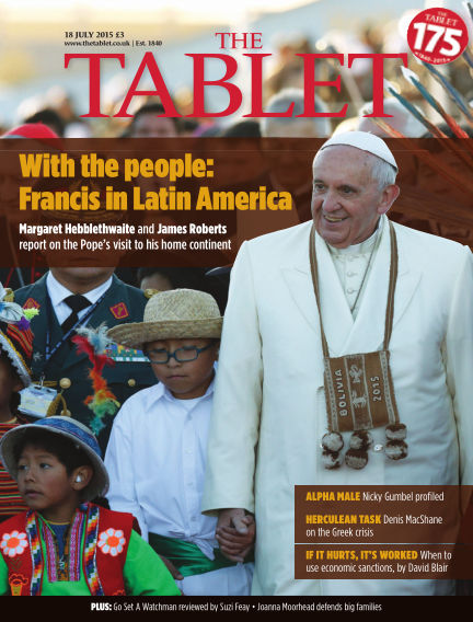 The Tablet Magazine July 18, 2015 00:00