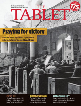 The Tablet Magazine 22nd August 2015