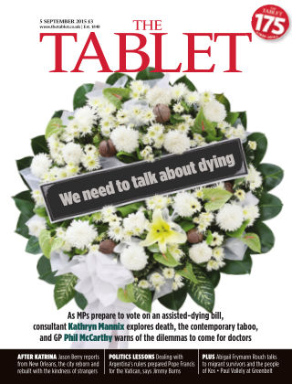 The Tablet Magazine 5th September 2015