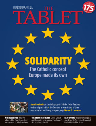 The Tablet Magazine 12th September 2015