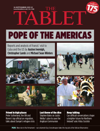 The Tablet Magazine 26th September 2015
