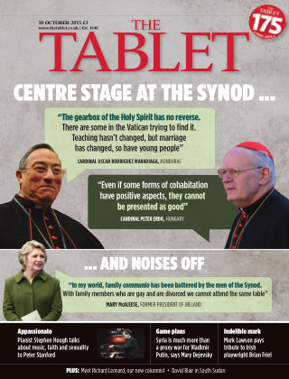 The Tablet Magazine 10th October 2015