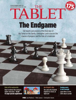 The Tablet Magazine 24th October 2015