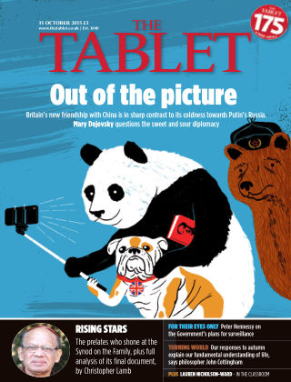 The Tablet Magazine 31st October 2015