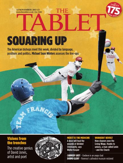 The Tablet Magazine November 14, 2015 00:00