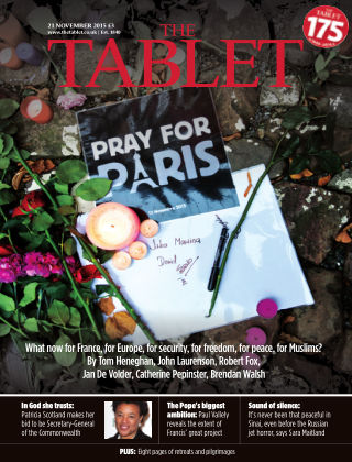 The Tablet Magazine 21st November 2015