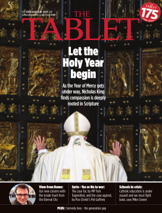 The Tablet Magazine 12th December 2015