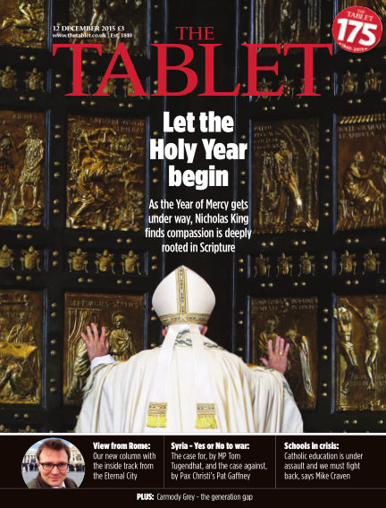 The Tablet Magazine December 12, 2015 00:00