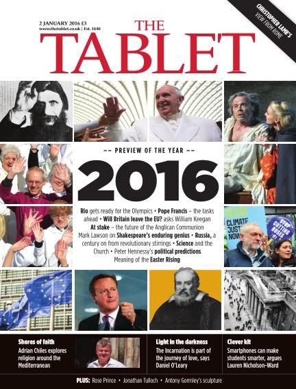 The Tablet Magazine January 02, 2016 00:00