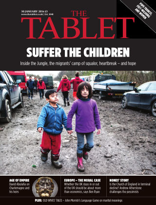 The Tablet Magazine 30th January 2016