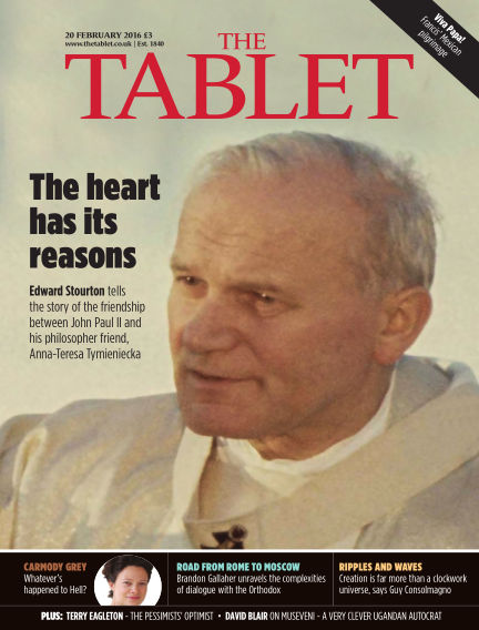 The Tablet Magazine February 20, 2016 00:00