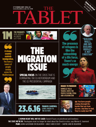 The Tablet Magazine 27th February 2016