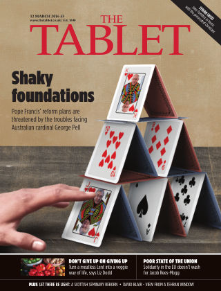 The Tablet Magazine 12th March 2016