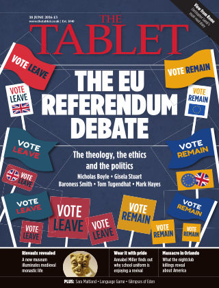 The Tablet Magazine 18th June 2016