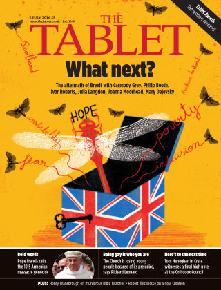 The Tablet Magazine 2nd July 2016