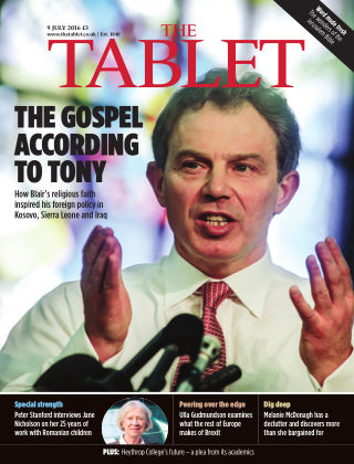 The Tablet Magazine 9th July 2016