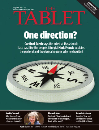 The Tablet Magazine 16th July 2016