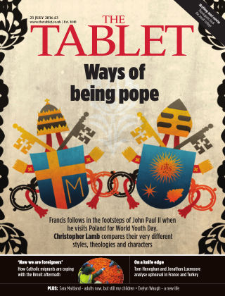 The Tablet Magazine 23rd July 2016