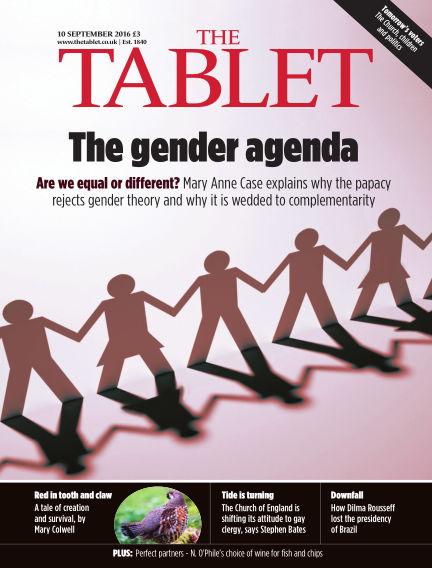 The Tablet Magazine September 10, 2016 00:00