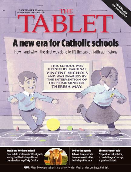 The Tablet Magazine September 17, 2016 00:00