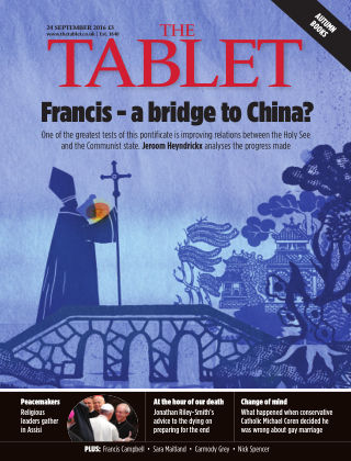 The Tablet Magazine 24th September 2016
