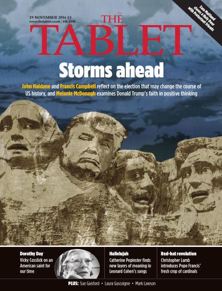 The Tablet Magazine November 19, 2016 00:00
