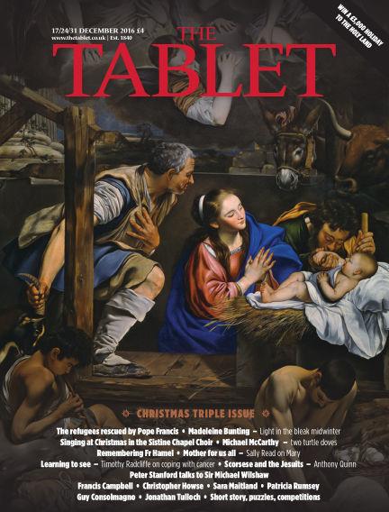 The Tablet Magazine December 17, 2016 00:00