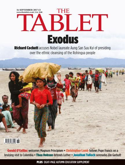 The Tablet Magazine September 16, 2017 00:00