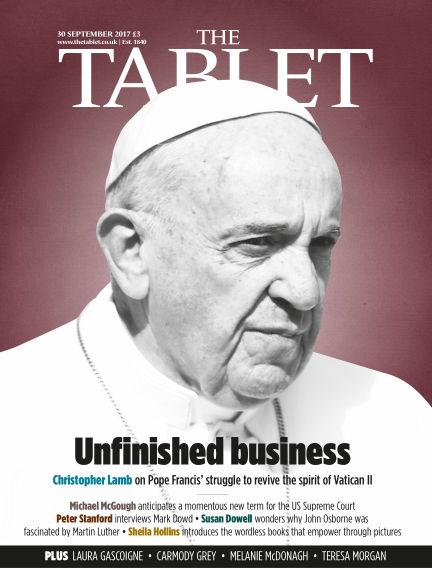 The Tablet Magazine September 30, 2017 00:00