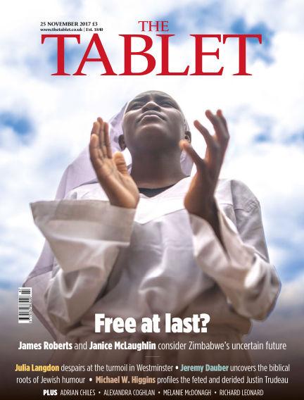 The Tablet Magazine November 28, 2017 00:00