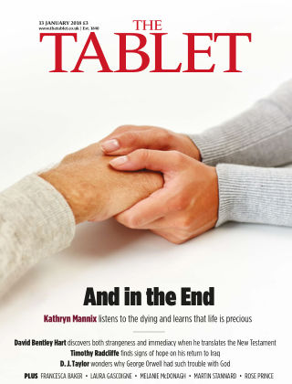 The Tablet Magazine 13th January 2018