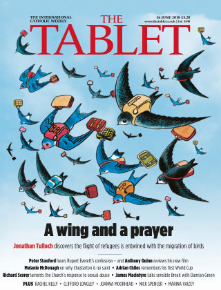 The Tablet Magazine 16th June 2018