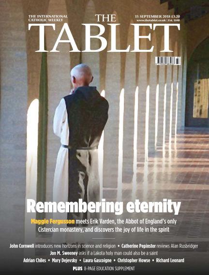 The Tablet Magazine September 15, 2018 00:00