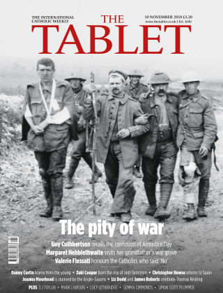 The Tablet Magazine 10th November 2018