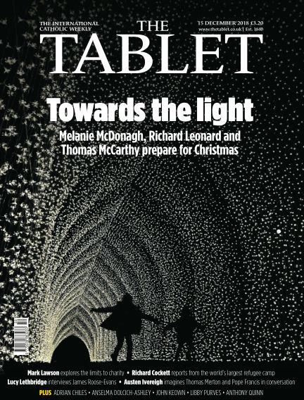 The Tablet Magazine December 15, 2018 00:00