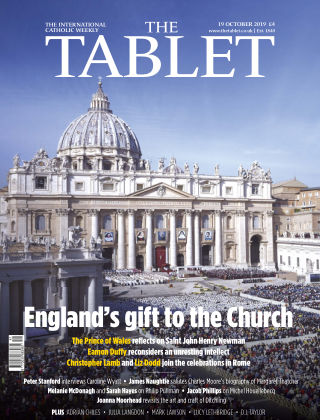 The Tablet Magazine 19th October 2019