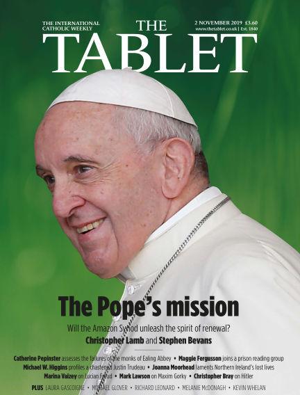 The Tablet Magazine November 02, 2019 00:00