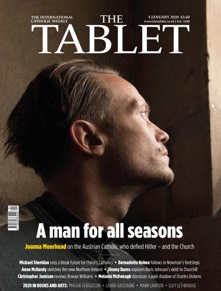 The Tablet Magazine January 04, 2020 00:00