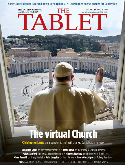 The Tablet Magazine March 21, 2020 00:00