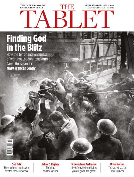 The Tablet Magazine September 26, 2020 00:00