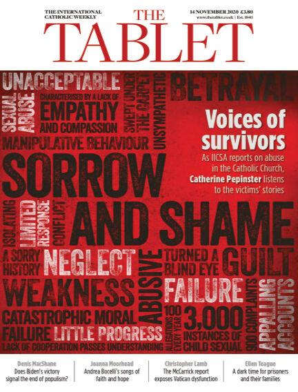 The Tablet Magazine November 14, 2020 00:00