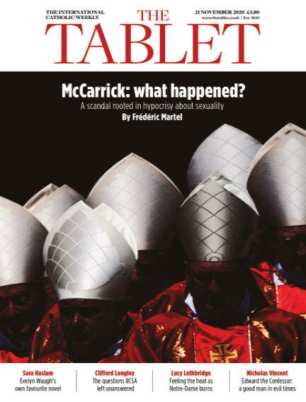 The Tablet Magazine November 21, 2020 00:00
